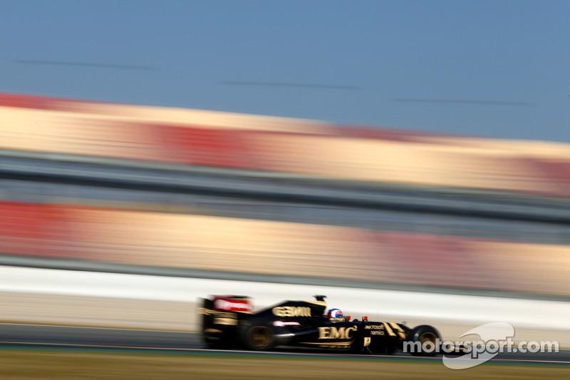 Jolyon Palmer, Piloto de teste e reserva da Lotus F1