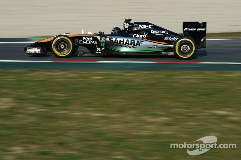 Sergio Perez, Sahara Force India F1 VJM07