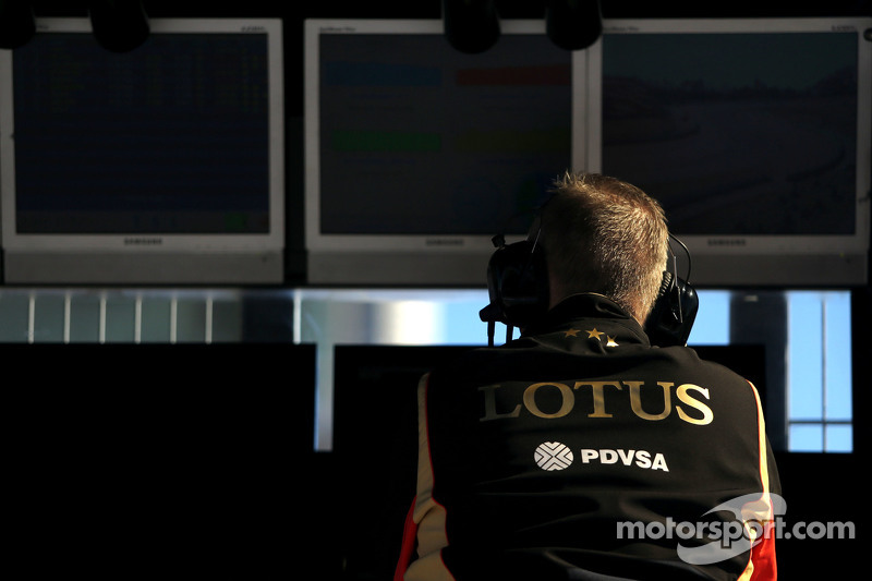 Lotus F1 Team, Ingenieur