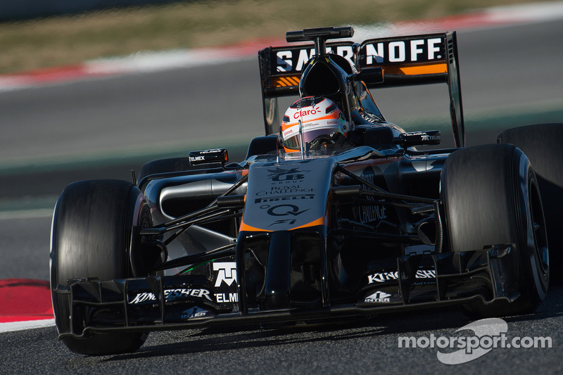Ніко Хюлкенберг, Sahara Force India F1 VJM07
