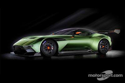 Aston Martin Vulcan onthulling