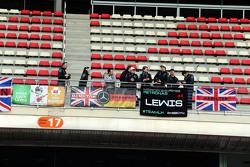 Fans von Lewis Hamilton, Mercedes AMG F1
