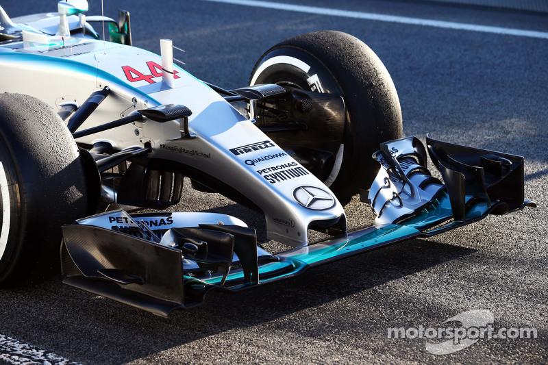 Mercedes AMG F1 W06 переднє крило