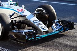梅赛德斯AMG车队 F1 W06赛车前翼