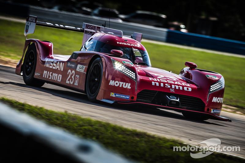 尼桑 GT-R LM Nismo赛车测试