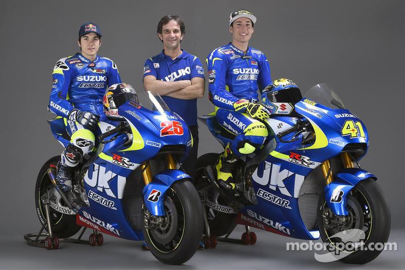 Маверік Віньялес, Team Suzuki MotoGP, Алеїч Еспаргаро, Team Suzuki MotoGP