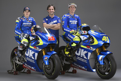 Алеш Эспаргаро и Маверик Виньялес. Запуск команды Suzuki GSX-RR, Презентация.
