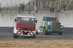 #95 Rick Collett/Eclair Vert Toulousain ERF ES8/Scania: Rick Collett, Christophe Miquel