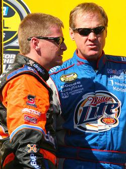 Jeff Burton et Rusty Wallace