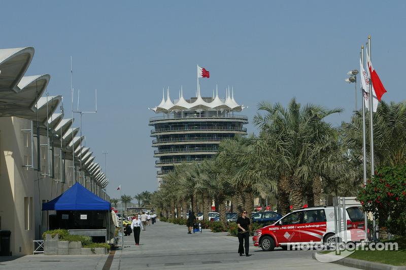 Paddock at Bahrain International Circuit