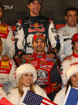 USA Nations Cup team Jeff Gordon and Travis Pastrana