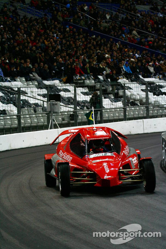 Quarter final: Nelson A. Piquet