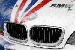 Detail of the BMW M3 GTR