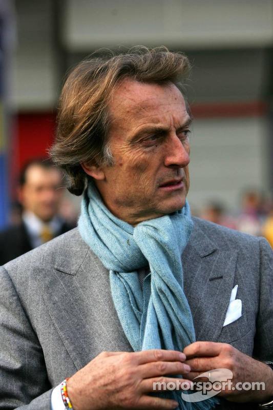 Luca di Montezemolo le président de Ferrari