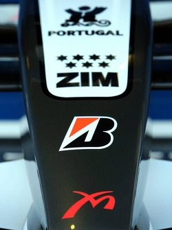 Detail of the MF1 Racing car