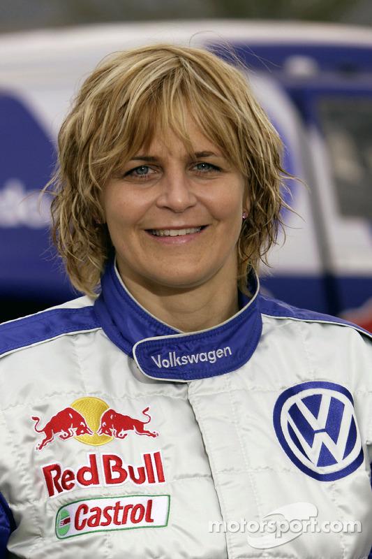 Volkswagen Motorsport: Tina Thorner, co-pilote de Giniel De Villiers