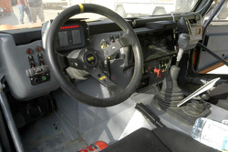 Team Dakar Sport: the cockpit of the Team Dakar Sport Bowler
