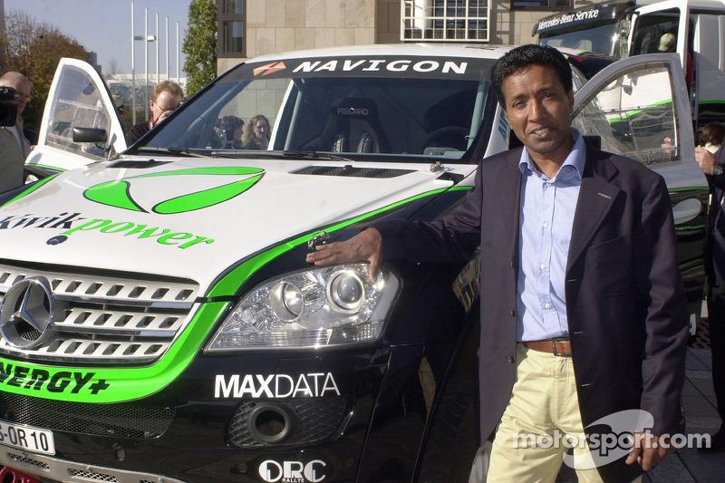 Equipe Kwikpower Mercedes-Benz : Balbir Singh
