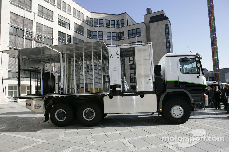 Equipe Kwikpower Mercedes-Benz : l'équipe camion de Kwikpower Mercedes-Benz