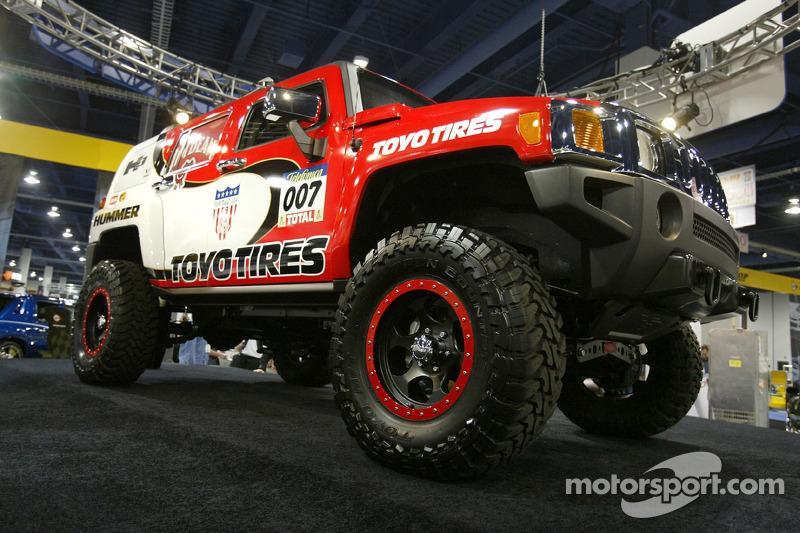 Equipe Gordon: la Hummer H3 Race Truck est dévoilée au SEMA 2005