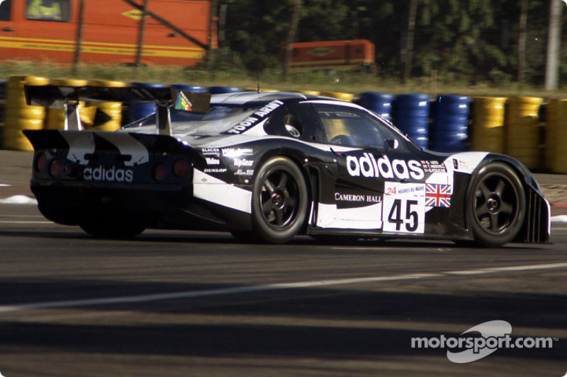 #45 Newcastle United Lister Storm GTL: Geoff Lees, Tiff Needell, George Fouché at 24 Hours of Le ...