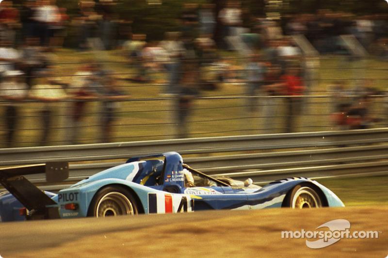 #4 Michel Ferté Ferrari 333 SP: Michel Ferté, Adrian Campos, Charles Nearburg
