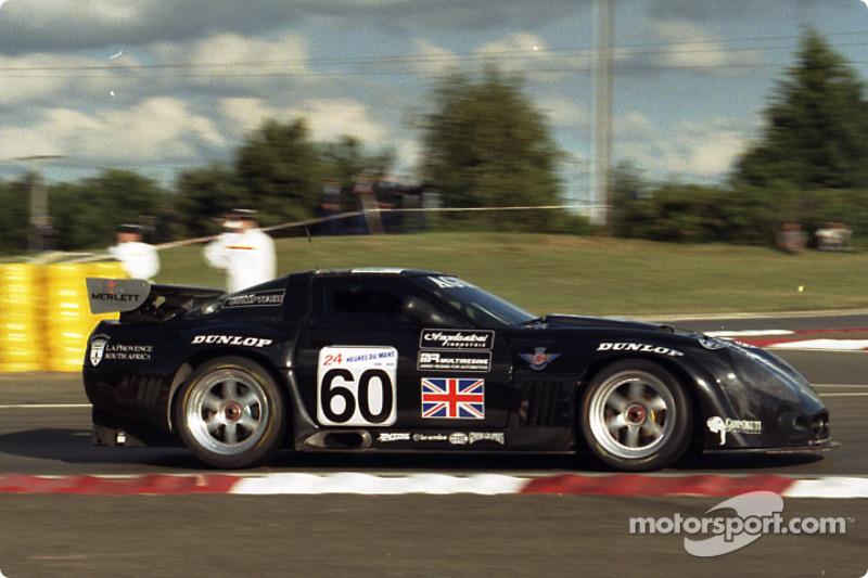 #60 Agusta Racing Team Callaway Corvette LM GT: Almo Coppelli, Rocky Agusta, Eric Graham