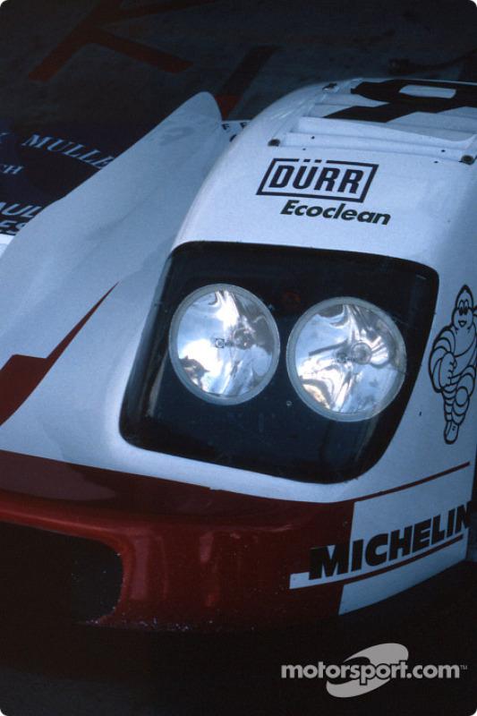 Headlights of the Courage Compétition Courage C36 Porsche