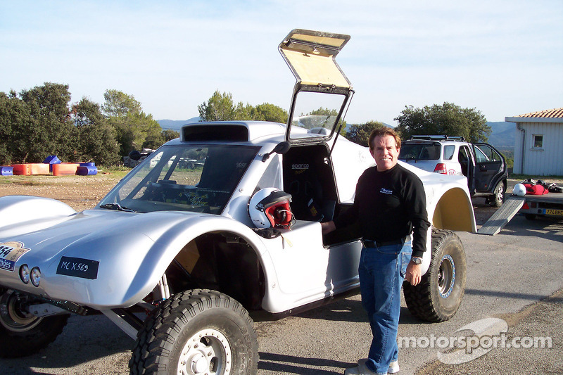 Ronn Bailey avec la Vanguard Racing Rally Car de 2006