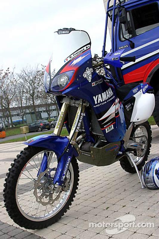 Yamaha Motor France: la Yamaha WR450F de David Frétigné