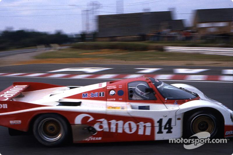 #14 Richard Lloyd Racing Porsche 956: Jonathan Palmer, James Weaver, Richard Lloyd