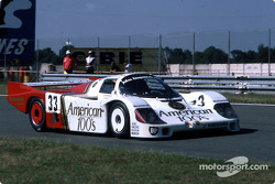 #33 Fitzpatrick Porsche Team Porsche 956: David Hobbs, Jo Gartner, Guy Edwards