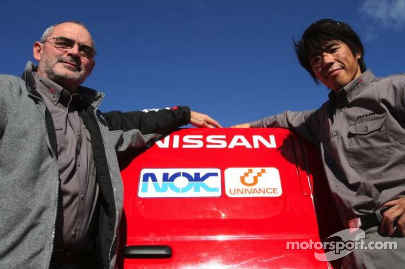 Jun Mitsuhashi et Jacky Dubois