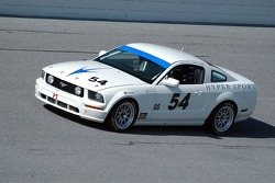 #54 Hypersport Engineering Mustang GT: Patrick Dempsey, Rick Skelton