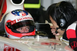Rubens Barrichello and Katoh