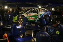 Ford BP World Rally service area