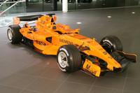 Der neue McLaren MP4-21 im McLaren Technology Center