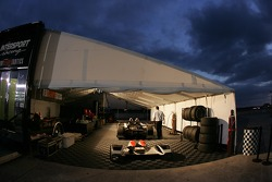 Intersport Racing paddock area