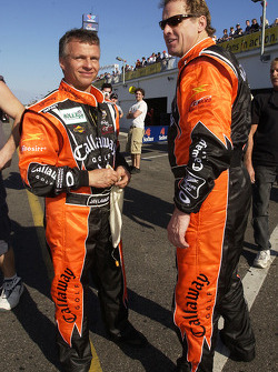 Jan Lammers and Rusty Wallace