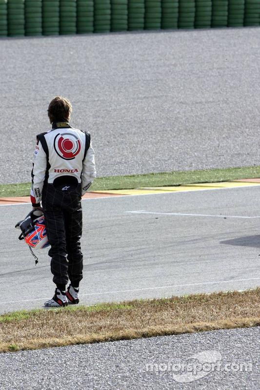 Problème moteur pour Jenson Button