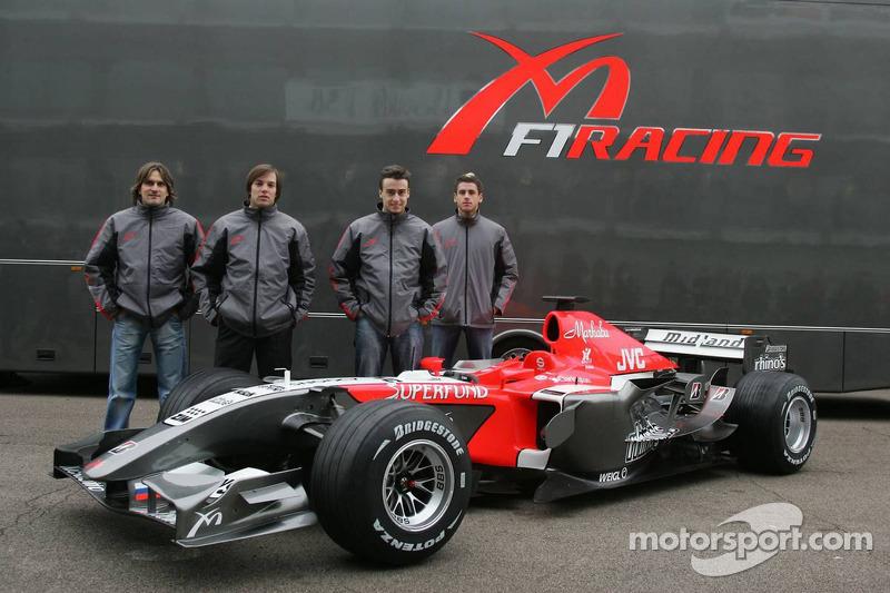 3 февраля 2006. Презентация команды Midland F1