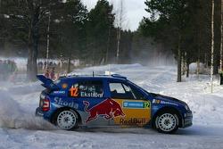 Mattias Ekström et Stefan Bergman