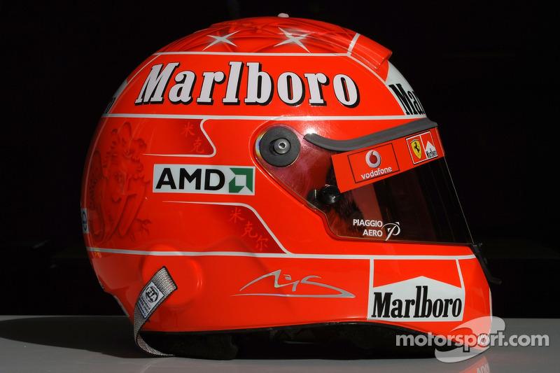Helmet, Michael Schumacher