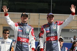 Drivers presentation: Tiago Monteiro and Christijan Albers
