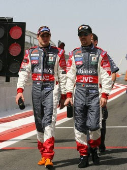Christijan Albers and Tiago Monteiro