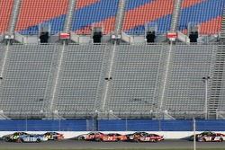 Race action on the superstretch