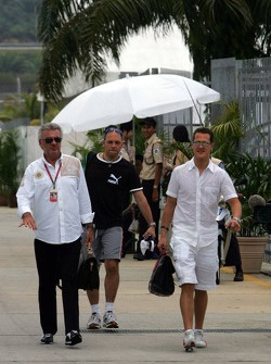 Willi Weber y Michael Schumacher