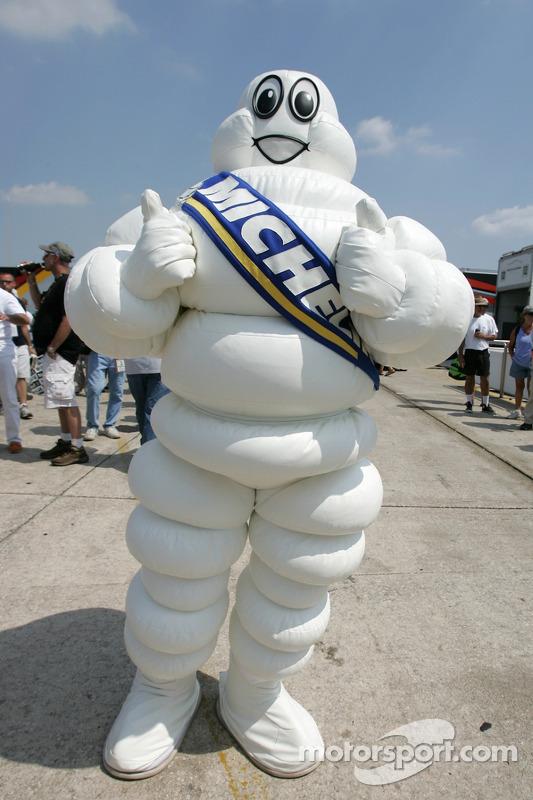 Le toujours heureux bonhomme Michelin