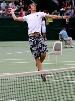 Pitstop tennis Pro-Am charity event: Alexander Wurz