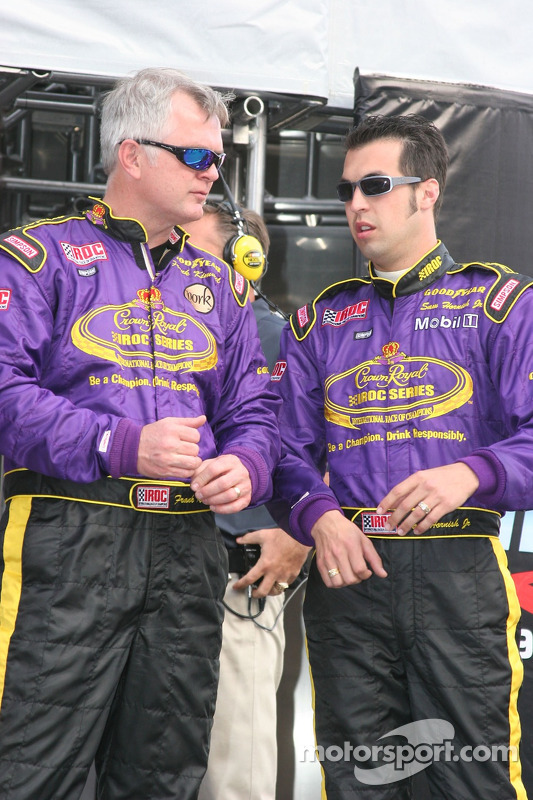 Frank Kimmel et Sam Hornish Jr.